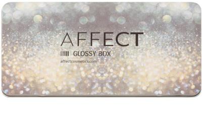 Affect Glossy Box paleta magnética vacía para cosméticos decorativos
