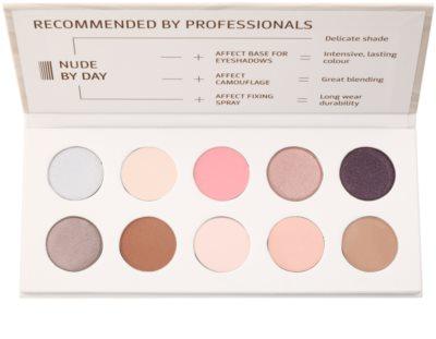 Affect Nude By Day 10 színt tartalmazó szemhéjfesték paletta