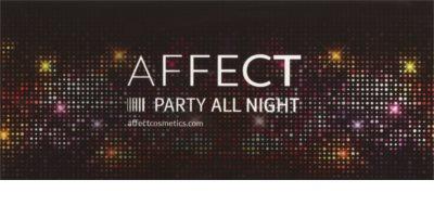 Affect Party All Night Palette mit 10 Lidschatten 1