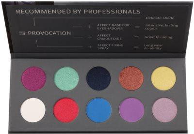 Affect Provocation палитра сенки за очи с 10 цвята