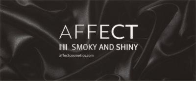 Affect Smoky and Shiny paleta očních stínů 10 barev 1