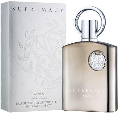 Afnan Supremacy Silver парфумована вода для чоловіків 1