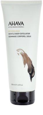 Ahava Dead Sea Mud jemný telový peeling pre suchú a citlivú pokožku