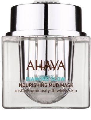 Ahava Diamont Glow vyživující maska s bahnem z Mrtvého moře a čistým diamantovým prachem