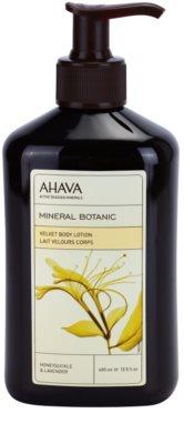 Ahava Mineral Botanic Honeysuckle & Lavender sametové tělové mléko