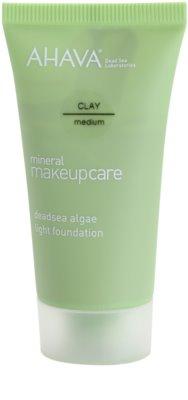 Ahava Mineral Make-Up Care lehký matující make-up pro normální až mastnou pleť