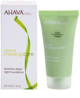 Ahava Mineral Make-Up Care lehký matující make-up pro normální až mastnou pleť 1