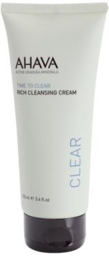 Ahava Time To Clear jemný čisticí krém pro dokonalé vyčištění pleti