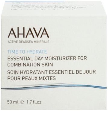Ahava Time To Hydrate denní hydratační krém pro smíšenou pleť 2