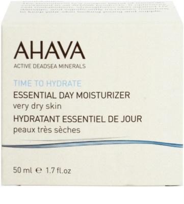 Ahava Time To Hydrate denní hydratační krém pro velmi suchou pleť 2