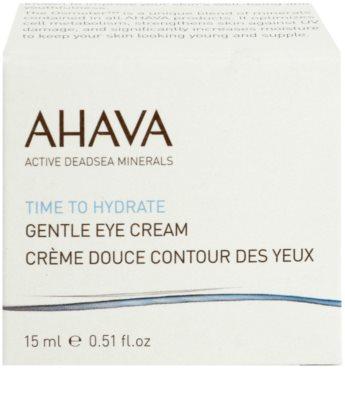 Ahava Time To Hydrate jemný oční krém 2