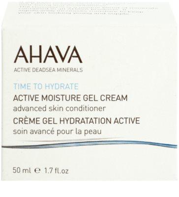 Ahava Time To Hydrate aktívny hydratačný gélový krém 2
