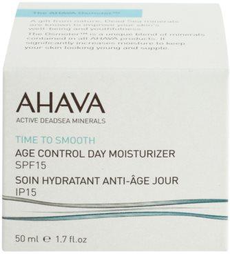 Ahava Time To Smooth denní hydratační krém proti stárnutí pleti s kyselinou hyaluronovou 2