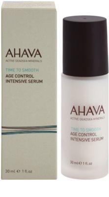 Ahava Time To Smooth rozjasňující a obnovující sérum s kyselinou hyaluronovou 2