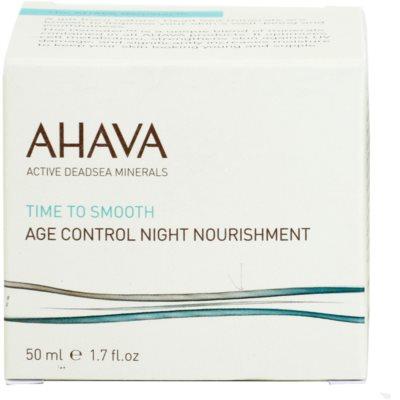 Ahava Time To Smooth noční výživný krém s protivráskovým účinkem 2