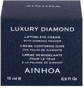 Ainhoa Luxury Diamond liftingujący krem pod oczy 2