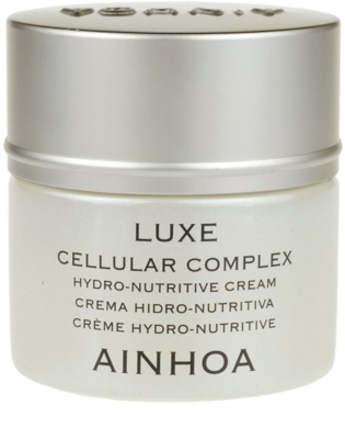Ainhoa Luxe Cellular Complex зволожуючий поживний крем з чорною ікрою