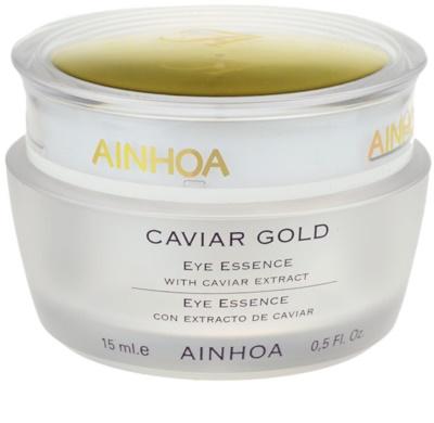 Ainhoa Luxe Gold creme de olhos gelatinoso com caviar