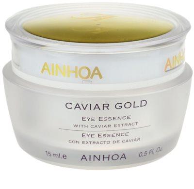 Ainhoa Luxe Gold Gel-Creme für die Augen mit Kaviar
