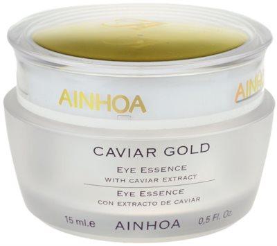 Ainhoa Luxe Gold околоочен гел- крем с хайвер