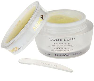 Ainhoa Luxe Gold creme de olhos gelatinoso com caviar 1