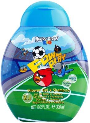 Air Val Angry Birds gel de duche para crianças