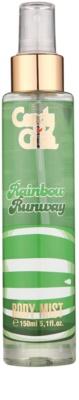 Air Val Candy Crush Rainbow Runway spray de corpo para crianças