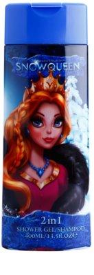 Air Val Snow Queen gel za prhanje za otroke