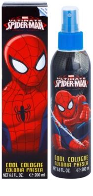 Air Val Ultimate Spiderman spray de corpo para crianças