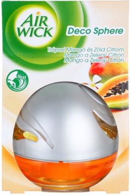 Air Wick Deco Sphere aroma diffúzor töltelékkel   Mango and Lime