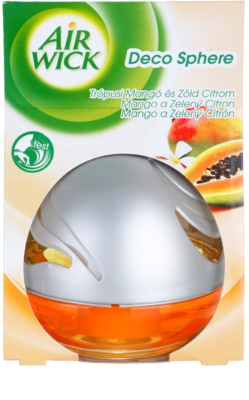 Air Wick Deco Sphere difusor de aromas con el relleno   Mango and Lime