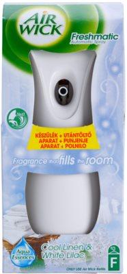 Air Wick Freshmatic oсвіжувач повітря   (Cool Linen & White Lilac)