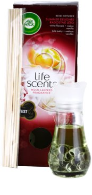 Air Wick Life Scents aroma diffúzor töltelékkel   (White Flowers, Melon, Vanilla) 1