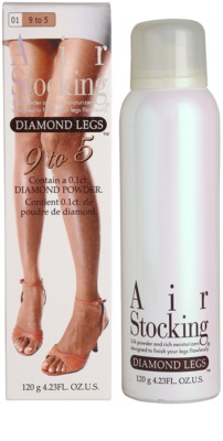 AirStocking Diamond Legs tonirane nogavice v pršilu SPF 25 2