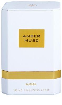Ajmal Amber Musc woda perfumowana unisex 4
