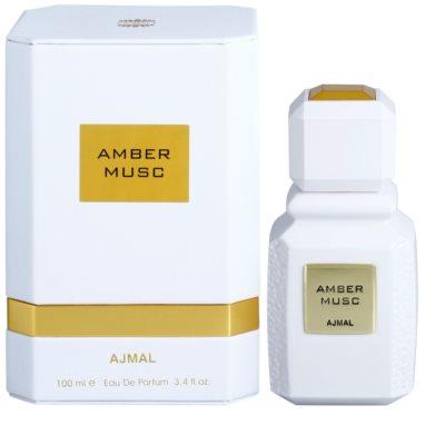 Ajmal Amber Musc Eau de Parfum unissexo