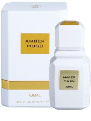 Ajmal Amber Musc woda perfumowana unisex 1