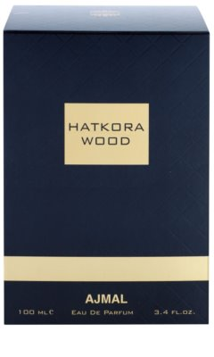 Ajmal Hatkora Wood eau de parfum unisex 4