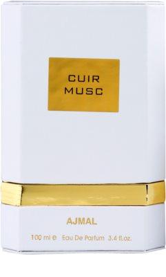 Ajmal Cuir Musc Eau de Parfum unissexo 4