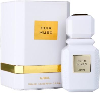 Ajmal Cuir Musc Eau de Parfum unissexo 1