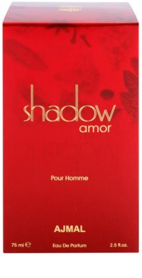 Ajmal Shadow Amor for Him Eau de Parfum para homens 3