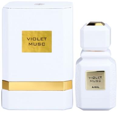 Ajmal Violet Musc Eau de Parfum unissexo