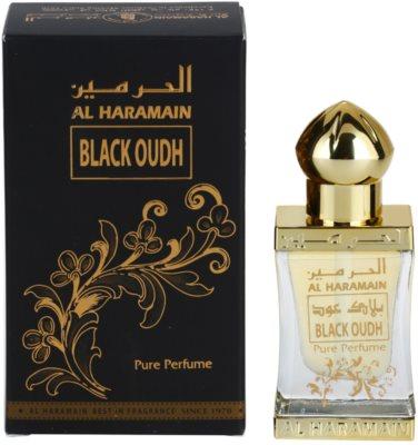 Al Haramain Black Oudh parfémovaný olej unisex