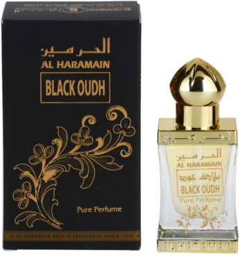 Al Haramain Black Oudh Perfumed Oil unisex