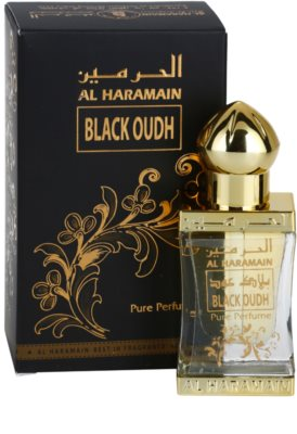Al Haramain Black Oudh Perfumed Oil unisex 1