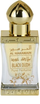 Al Haramain Black Oudh Perfumed Oil unisex 2