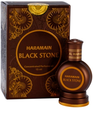 Al Haramain Black Stone illatos olaj férfiaknak 1