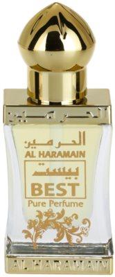Al Haramain Best parfümiertes Öl unisex 2