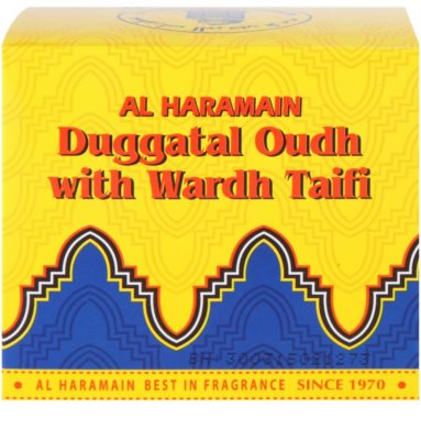 Al Haramain Duggatal Oudh with Wardh Taifi incienso 4