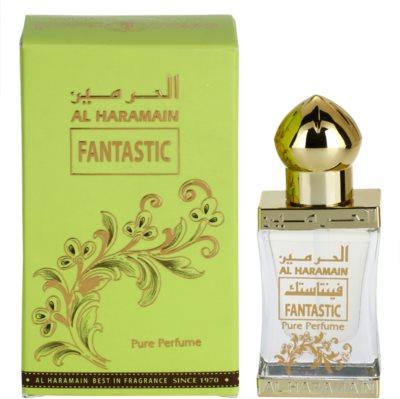Al Haramain Fantastic óleo perfumado unissexo